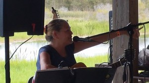 Mama Gina performs at the first Treasure Coast Pagan Pride Day
