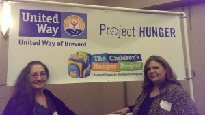 EMLC Members Lady Circe and Kasha at the Children's Hunger Project